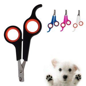 Nail Professional Pet Dog Ciseaux Beauté en acier inoxydable Ciseaux animaux Nail Trimmer