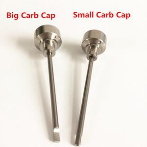 1 Foro 14/18 millimetri di titanio Carb Cap con TV Tip Titanium Dabber Jiont Per Domeless titanio Nail