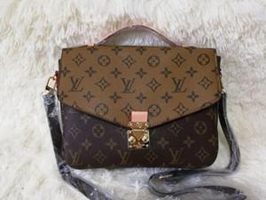 Kadınlar sıcak tasarımcı çanta messenger çanta oksitleyici deri pochette kese kavramaları 40780 alışveriş zarif omuz çantaları crossbody çanta Metis