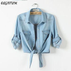 Die Wärme kommt aus! Coat Casaco Feminino Jeans, neue und alte Frauen-Jeans, Jacke feminina Damen 3/4 Hülse Jeans-Jacken für F T190919