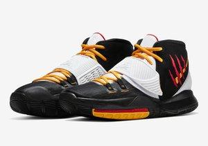 Kutu iyi Mamba Zihniyet erkek erkekler kadınlar basketbol ayakkabısı Toptan fiyatlar US4-US12 ile satışa 2020 Çocuk Kyrie 6 Bruce Lee ayakkabı