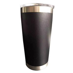 Caneca de aço BPA Free High Quality Beer Cup Double Wall Tumbler Duplas inoxidável, 10 cores para escolher