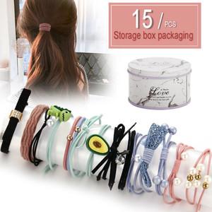 Online знаменитости INS оголовья женщины в Южной Корее взрослых Tie Head Простых MORI серия Hairband волос Tie резинового волос диапазон Headdr