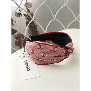 Luxus-Haarband 2020 Stirnband für Frauen-Sommer-kühlen Designer geknotete Stirnband-Qualitäts-Kopf-Schal Headwraps Haar-Accessoires Geschenke