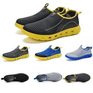 Designer homens deslizamento das mulheres tênis verão respirável Wading sapatos de designer formadores tênis de marca caseira feita na China 39-44