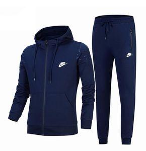 2020 de diseño de ropa deportiva para mujer para hombre con capucha de manga larga trajes suéter del juego del deporte para correr medias traje de marca de invierno traje deportivo B104065D