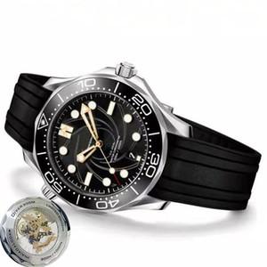 Erkekler İzle Sliver Vaka Sınırlı Üretim Skyfall Mens James Bond 007 300M Dalgıç Mark 50 Elmas Reloj Saat Kol saatı Özellikler En Yeni
