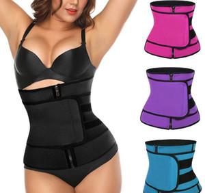 Waist Trainer Thermo Sweat Belt Waist Trainer Girdle Corset Women Tummy Body Shaper Shapewear Fat Burning Fitness Strap