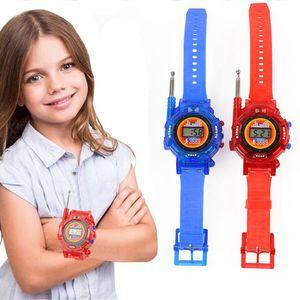 Children'S Toy Watch Walkie-Talkie Seven-In-One Military Intercom Toy Intelligence Development Training Toy