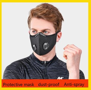 Anti-Dust Masks Cotton Mask Mouth Face Mask Unisex Man Woman Cycling Wearing Black White Fashion High Quality