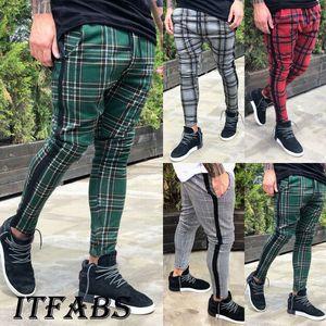 Mantas para hombre diseñador Pantalones otoño del resorte de lápiz de la manera de las bragas pantalones largos Pantalones Joggers