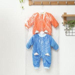 Trasparente per bambini Vestiti di plastica Coperchio antipolvere Camicia per bambini Tuta Giacca Custodia per indumenti Protezione custodia