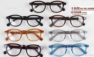 Yeni tasarım lemtosh gözlük güneş gözlükleri çerçeveleri en Kaliteli yuvarlak gözlük sunglases çerçeve Ok Perçin 1915 S M L boyutu