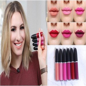 2020 new lowest price High quality New Arrivals HOT new makeup Retro Matte liquid lipstick lip gloss 5ml with name 15 color