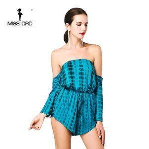 Ücretsiz Kargo Missord 2019 Seksi Kelime omuz uzun kollu oyun elbisesi FT4676