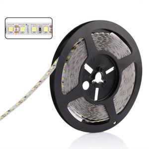 Lámparas de tiras LED de Navidad RGB 16.4FT / 5M SMD 5050 DC12V Flexibles Les Strips Lights 50LED / Meter 16Diferent Colores estáticos