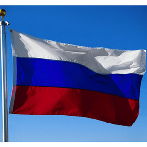 أعلام الروسي العلم 90x150cm البوليستر الطباعة أبيض أزرق أحمر من روسيا 3X5 قدم روسيا الاتحادية بلد العلم الوطني في الهواء الطلق في الأماكن المغلقة