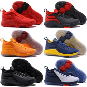 Cheap New Mens Lebron Witness 2 II basketball shoes Kids Shoes Black Red White Army Green Grey wholesale James 23 sneaker