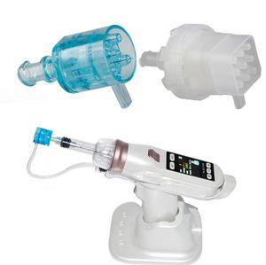 25PCS 5 Needles Negative Pressure Cartridge For EZ Vacuum Mesotherapy Meso Gun micro needle system water meso injection gun face whitening