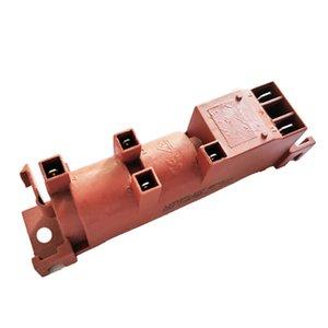 Gas-Wasser-Heizung 220V AC Vier-Outlet-Center Pulse Anzünder Herd Gas Anzünder Ersatzteile 2Pcs Andere Küche Restaurants Bar