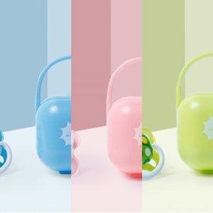 Baby pacifier newborn soft sleeping type Storage box nipple Silicone nipple 6-18 baby silicone pacifier storage box