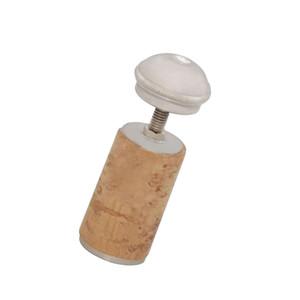 Flute Stopper Plug Screw Headjoint Cork Flute Head Screw Cap Silver-Plated