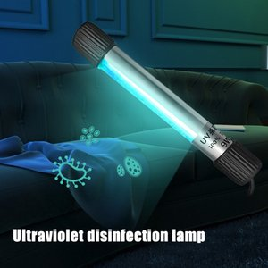 Portátil Tubo Esterilizador UV Luz Waterproof Desinfecção Lamp Wand vara ultravioleta germicida Luz para Quarto Home FFA3670