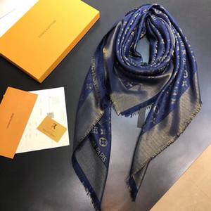 Nouvelle écharpe pour femmes de luxe Lettre Motif Designer cachemire tricot chaud écharpes longues écharpes chaudes Taille 140 * 140CM Top Qualité