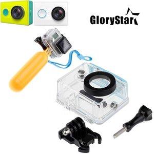 Case Camera Ação Sports para Xiaomi Yi Waterproof caixa caso Mi Yi Diving w / Floaty Bobber monopé para Xiaomi Yi Acessórios
