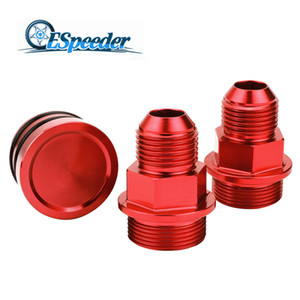 ESPEEDER Bloco traseira respiro Fittings ficha para B16 B18 M28 TO 10AN