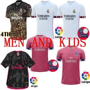 2020 2021 Real Madrid Men + kids soccer jerseys 20 21 HAZARD RAMOS BENZEMA RODRYGO camiseta football shirts Kit Maillot Maglia Tops