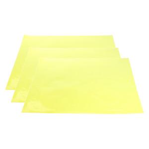 3x Color Gel Correction Filter fogli overlay colore trasparente film plastico gel di illuminazione filtro giallo