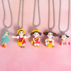 Japanese Anime Cartoon Necklace Kawaii Totoro Pendant Fashion Necklace Birthday Christmas Gift Choker For Women Party Favor VT0523