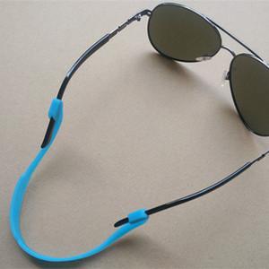 Silikon Elastik Gözlük Antiskid Halat Gözlükler Zincirler Doğa Sporları Bant Baş Kayış Flatör Kordon Güneş Sıkı Tutucu Aksesuarları