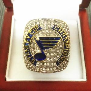 2019 St. Louis Blues Coupe Stanley anneaux Fan Hommes Coffret Cadeau en gros 2019 Drop Shipping