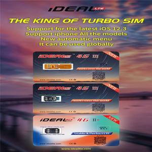 2019 Original IDEALE SIM NUOVA carta di sblocco LTE 4G + Sblocca tutti i / X / 8 / 8P / 7 / 6S menù IOS12.3 iPhone XR / XS MAX / 6 LTE 4G Auto pop-up
