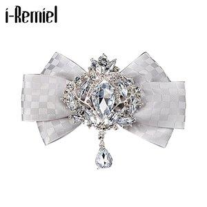 i-Remiel British Style Groom's Best Man Crystal Plaid Bow Tie Korean Bowtie for Men Shirt Cravat Necktie Clothing & Accessories