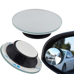 Loonfung Lf209 Car 360 Degree Framless Blind Spot Mirror Wide Angle Convex Mirror Small Round Parking Mirror 2pcs  Lot