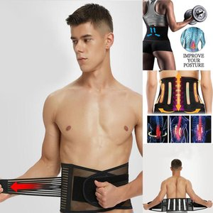 Shaper Belt Men Slimming Belt Waist Trainer Modeling Strap Cincher Sheath Body Girdle Men's Beer Belly Abdomen Belt Strong Waist
