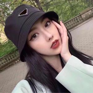 2020 New Style Luxury Bucket Chapéus Mulheres Moda Marca Designer Sun Cap Bacia Hat Nylon Preto Outdoor Viagem Hat Homens