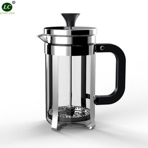 Coffee pot French Press Filter Coffee Pot 350ml high Temperature Resistant Glass Teapot high quality