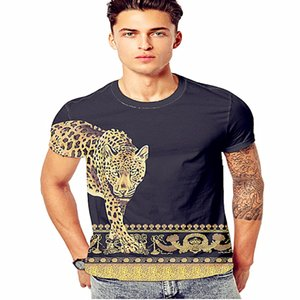 2020Summer Designer T Shirts For Men Tops Tiger Head Letter Embroidery T Shirt Mens