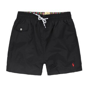 2019Summer Men Short Pants Brand Clothing Swimwear Nylon Men Brand Shorts de playa Pequeño caballo Swim Wear Pantalones cortos a bordo
