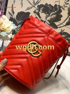 Quality brand fashion handbag multicolor stitching bucket bag leather Messenger bag handbag wallet women 8448116*