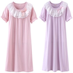 Baby Girl Clothes Princess Nightgown Christmas Dress Sleep Shirts Nightshirts Pajamas Sleepwear kids for 3-17 Years Y200704