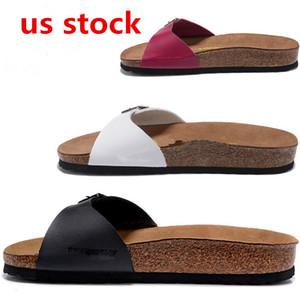 Nosotros stock, Arizona 2020 verano de la playa del corcho del deslizador de las chancletas de mujeres de las sandalias color mixto Casual zapatos planos Diapositivas 36-46 envío FY9034