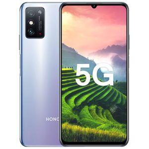 """Huawei Honor original X10 Max 5G del teléfono móvil 6 GB de RAM 128 GB ROM MTK 800 Octa Core Android 7,09"""" Teléfono 48.0MP cara Identificación de huellas dactilares celular inteligente"""