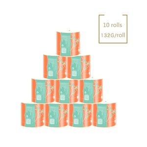 1320g Di Native Bamboo Pulp / Sollevare Nucleo rotolo di carta igienica carta igienica tessuto asciugamani Accessori *