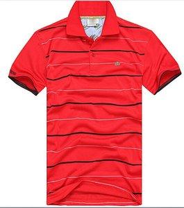 Raya nueva moda de alta calidad verano ocasional de la venta caliente camiseta solapa del algodón del polo camisa de los hombres de manga corta Polo Sport camiseta del tamaño S-3XL 328-A6