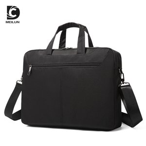 Men's and women's briefcase Shockproof thickening 13 14 15.6 inch tablet computer bag Shoulder diagonal laptop notebook bag